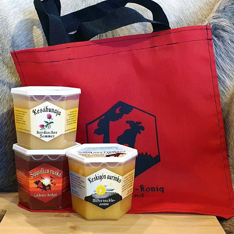 Honey set combination package